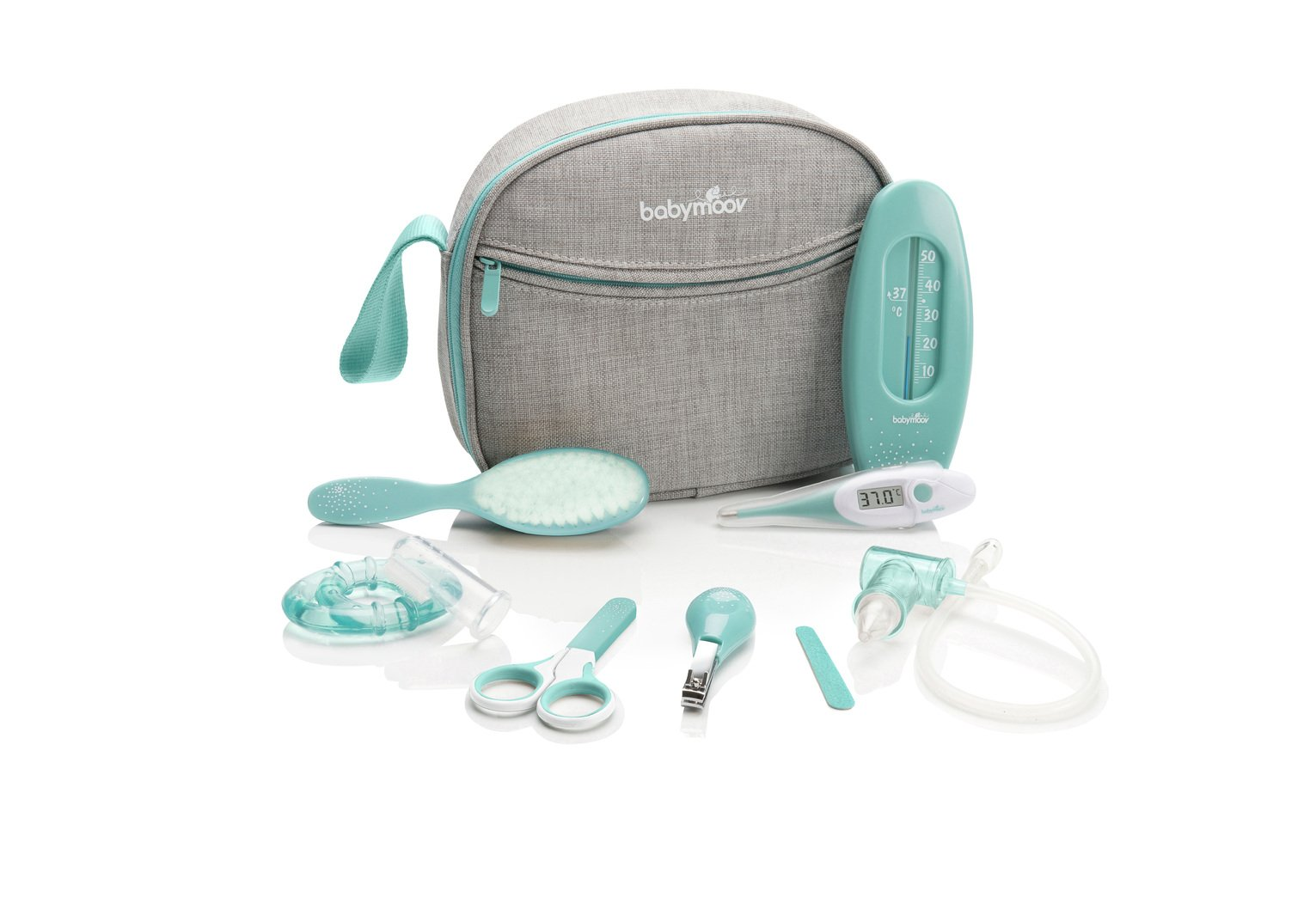 Babymoov Baby Healthcare and Grooming Kit - Aqua