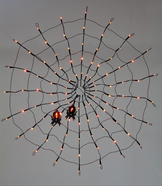 Premier Decorations 80cm LED Spider Web