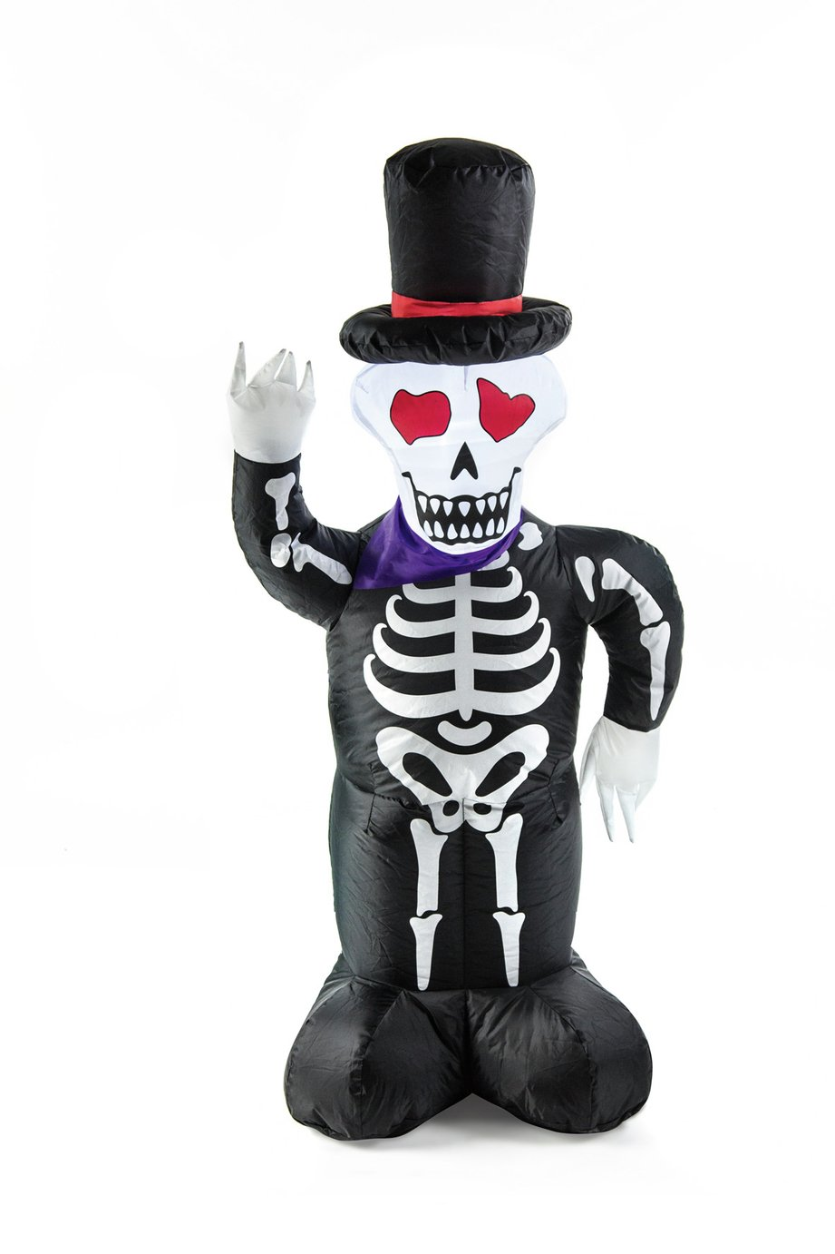 Premier Decorations 4ft Inflatable Skeleton