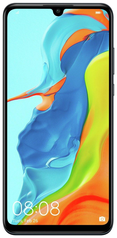 SIM Free Huawei P30 Lite 128GB Mobile Phone Black
