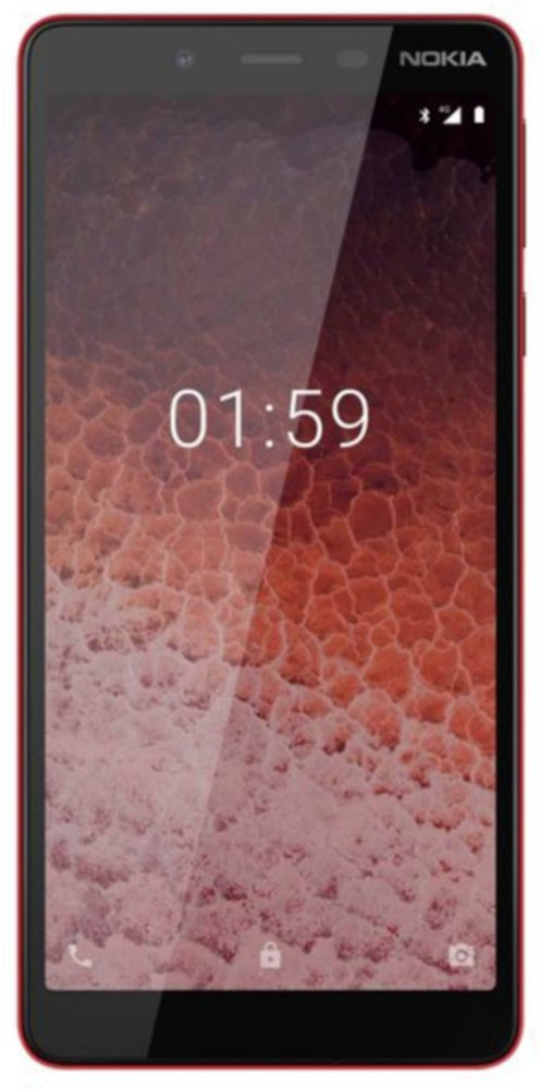 SIM Free Nokia 1 Plus Mobile Phone - Red