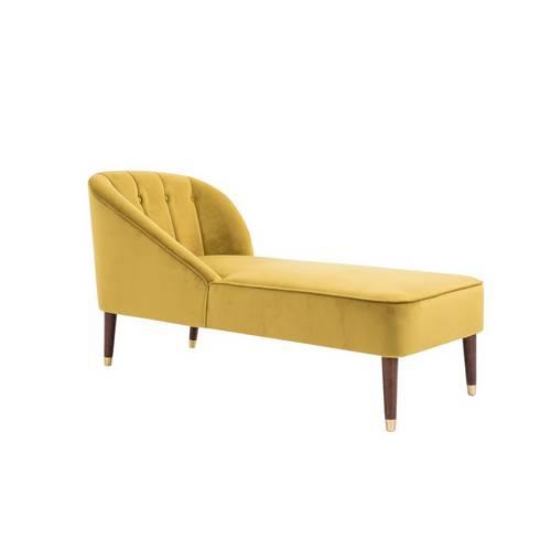 Buy Birlea Alexa Fabric Chaise Longue - Mustard | Sofas | Argos