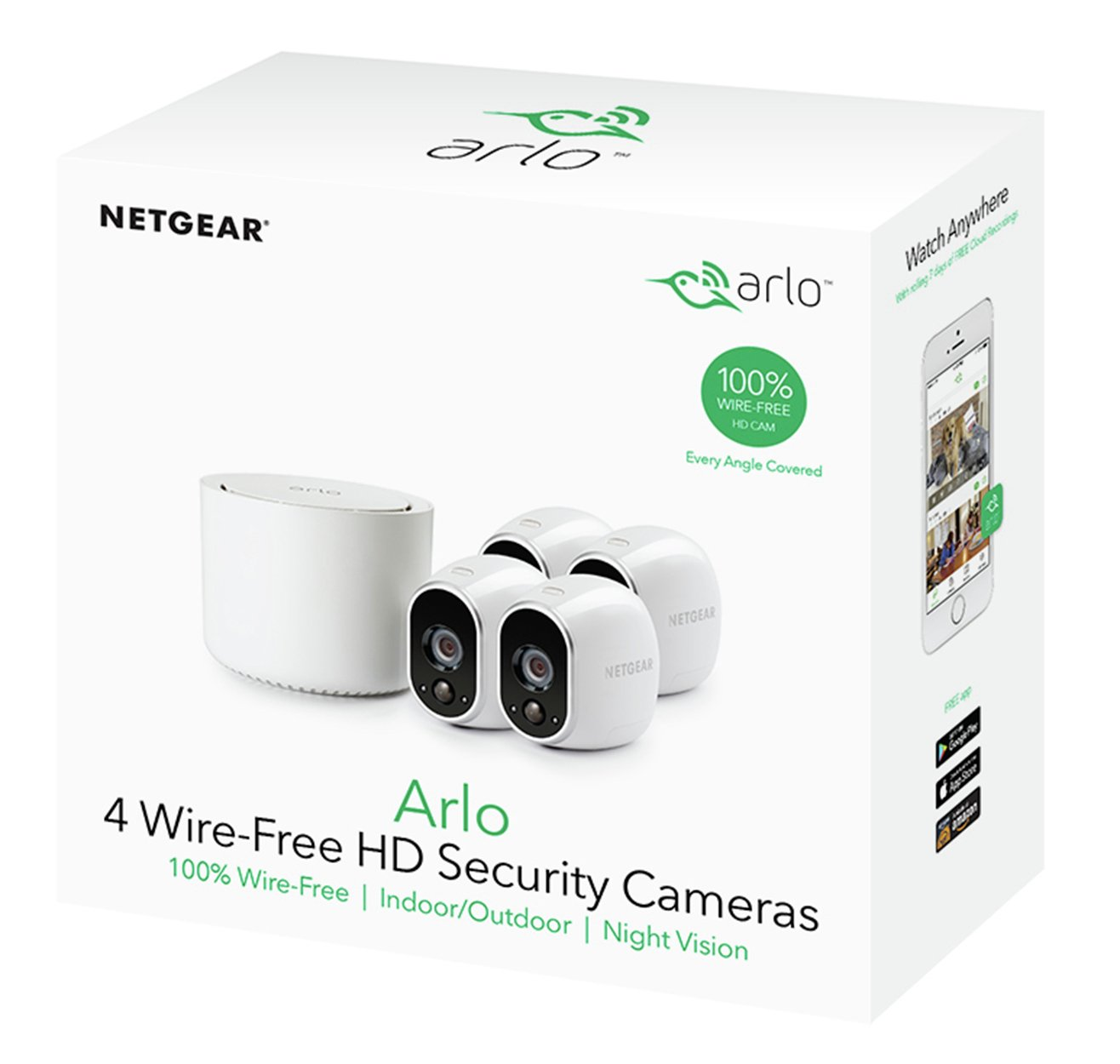 Arlo VMS3430 Four Camera Wireless Security System