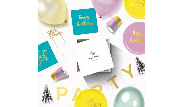 Styleboxe Happy Birthday Party Decoration Set