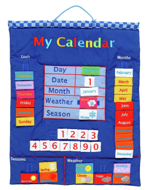 Fiesta Crafts Hanging Fabric My Calendar