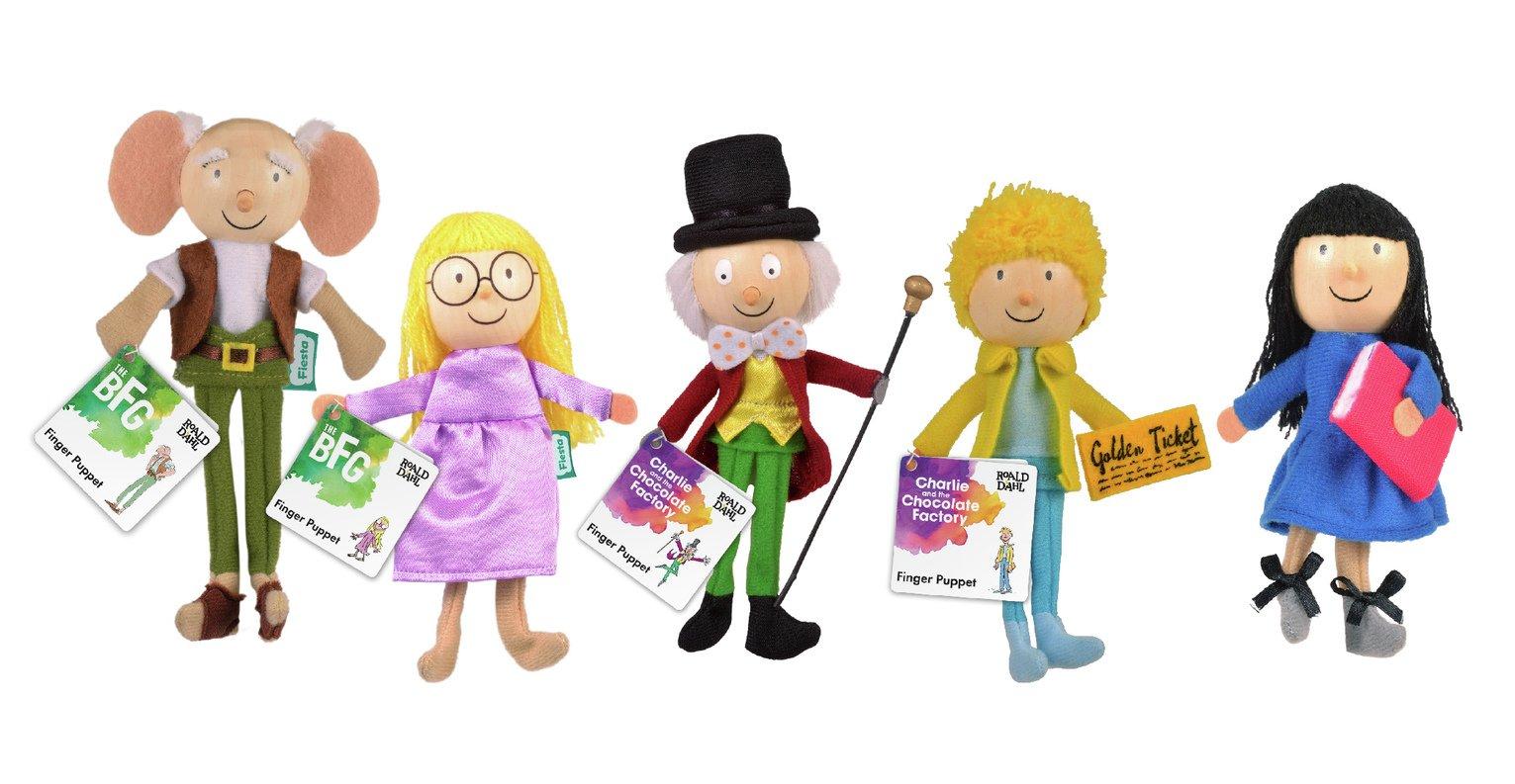 Fiesta Crafts 5 Roald Dahl Puppets Set