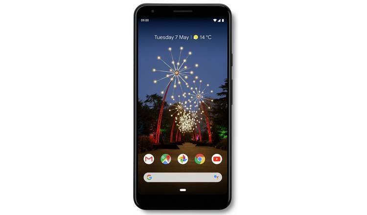 SIM Free Google Pixel 3a XL 64GB Mobile Phone - Black