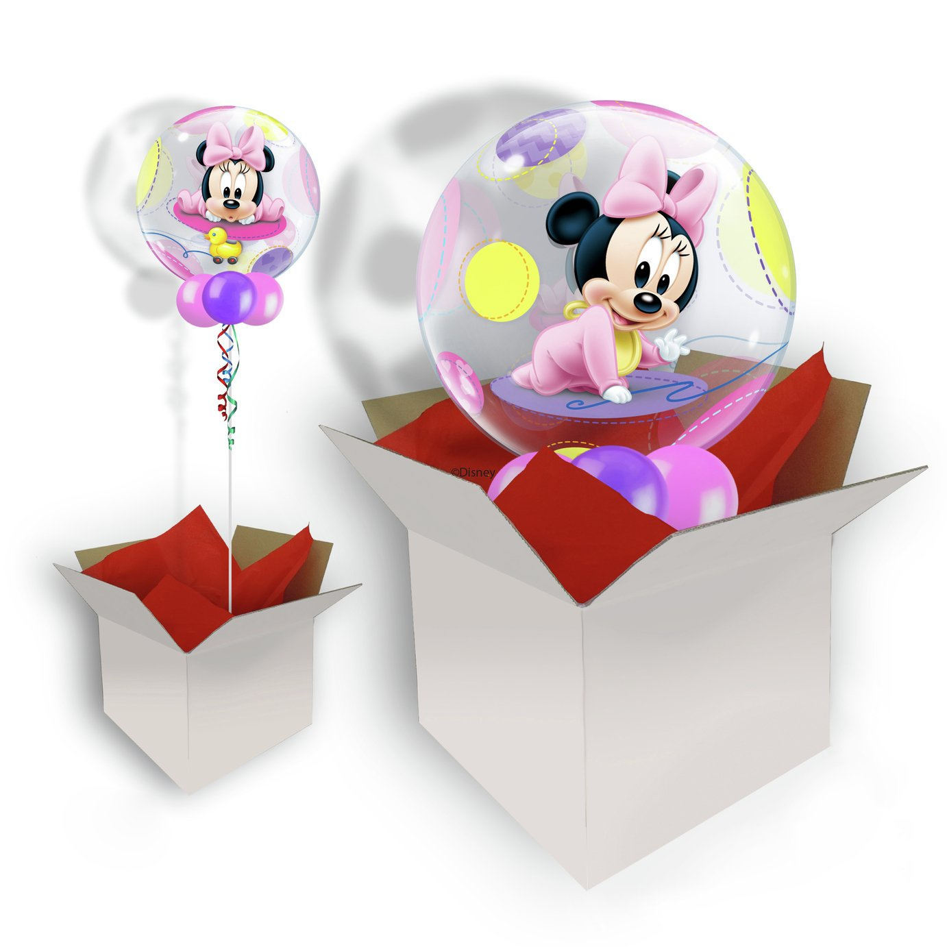 Disney Baby Minnie Mouse Balloon In a Box