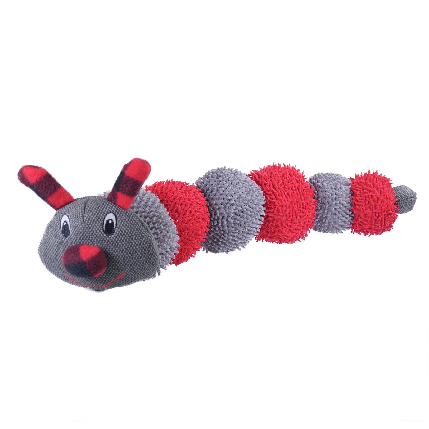 Rosewood Large Crinkly Caterpillar Dog Toy