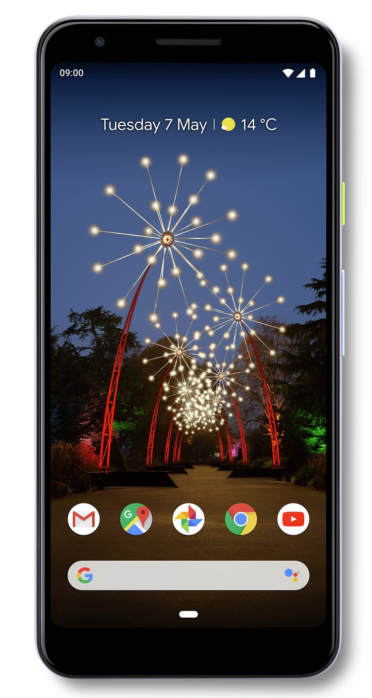 SIM Free Google Pixel 3a 64GB Mobile Phone - Lilac