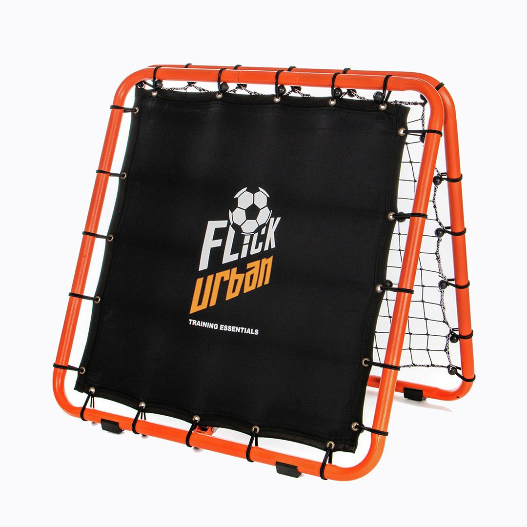 Football Flick Urban Skills Training Rebounder and Net