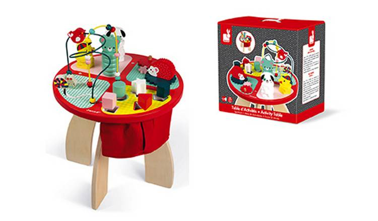 Janod Activity Table - Baby Forest