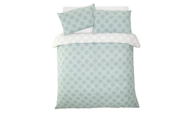 Argos Home Spot Print Bedding Set - Double