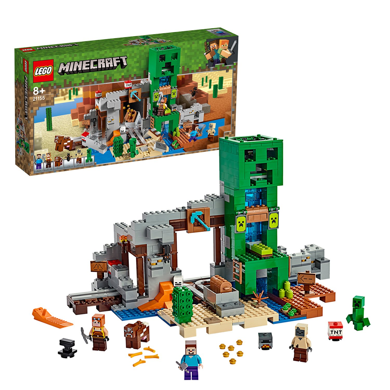 LEGO Minecraft The Creeper Mine Playset - 21155