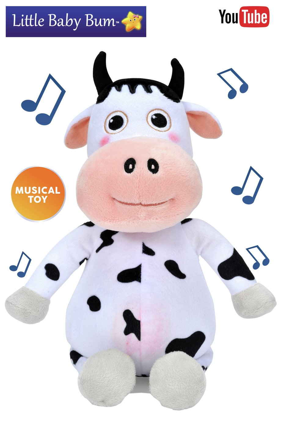 Little Baby Bum Musical Daisy Cow