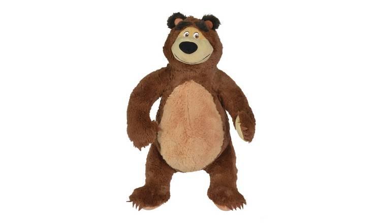 Cute Lamb Stuffed Animals, Buy Masha And The Bear Masha 50cm Soft Toy Teddy Bears And Soft Toys Argos
