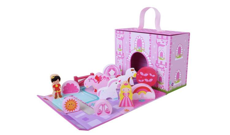 Jumini 12 Piece Foldaway Unicorn Castle