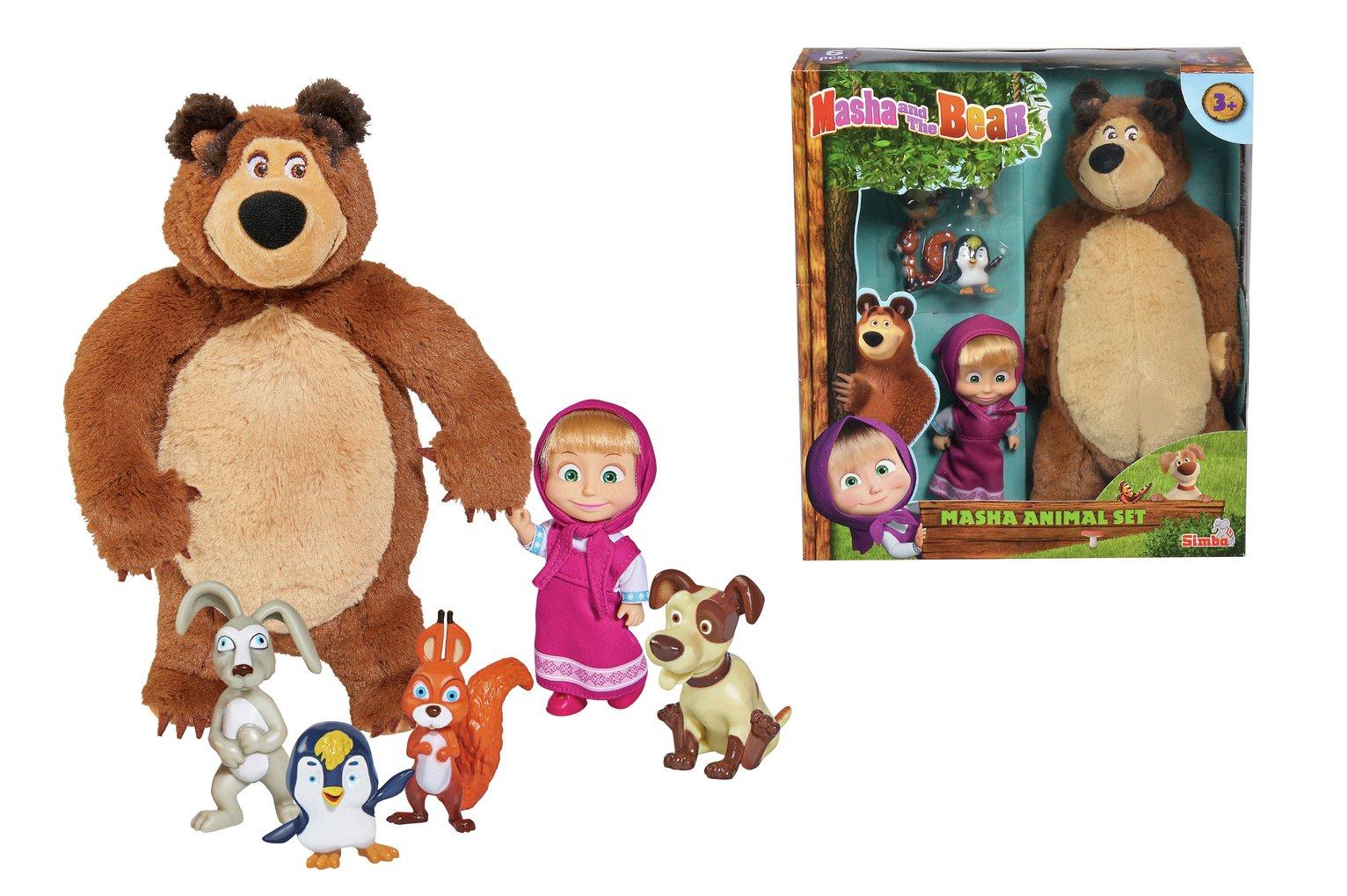 Masha and the Bear Gift Set