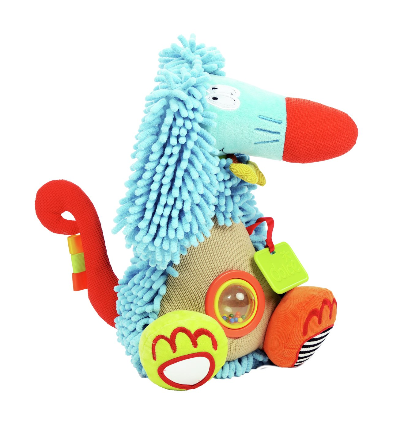 Dolce Toys Afghan Hound Activity Toy