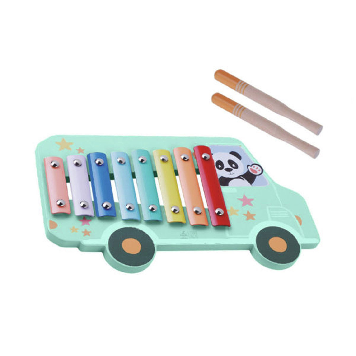 Jumini Xylophone Happy Bus