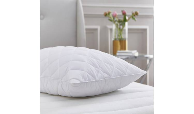 Buy Silentnight Quilted Duck Feather Pillow Pillows Argos