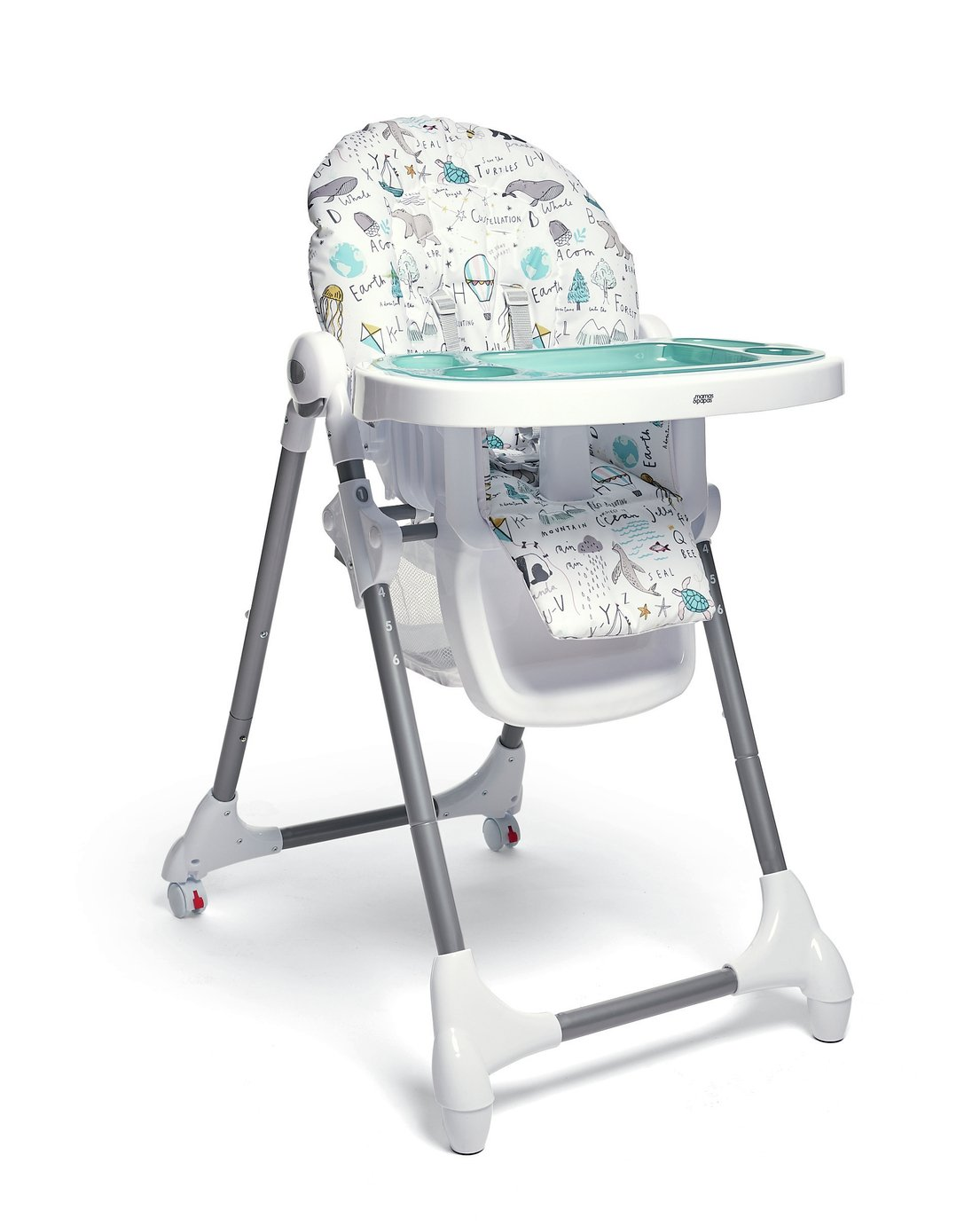 Mamas & Papas Happy Planey Snax Highchair
