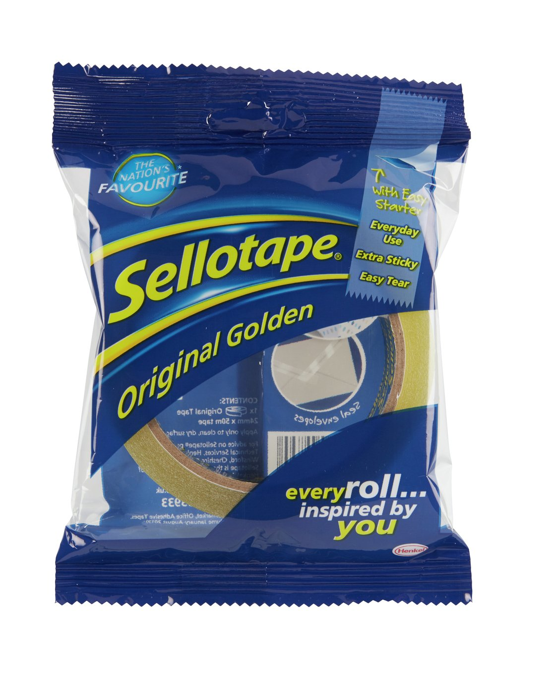 Sellotape Original Golden 24mm x 50m