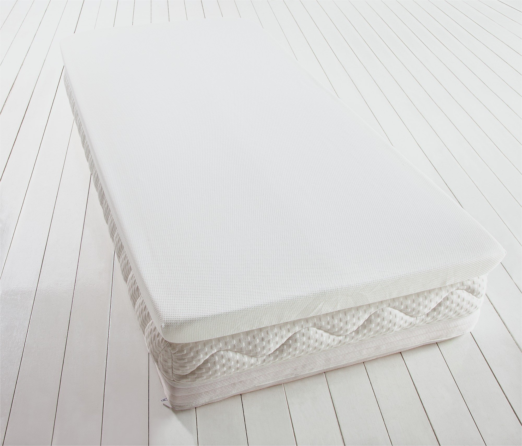 buy collection luxury memory foam mattress topper kingsize at argoscouk your online shop for mattress toppers bedding home and garden