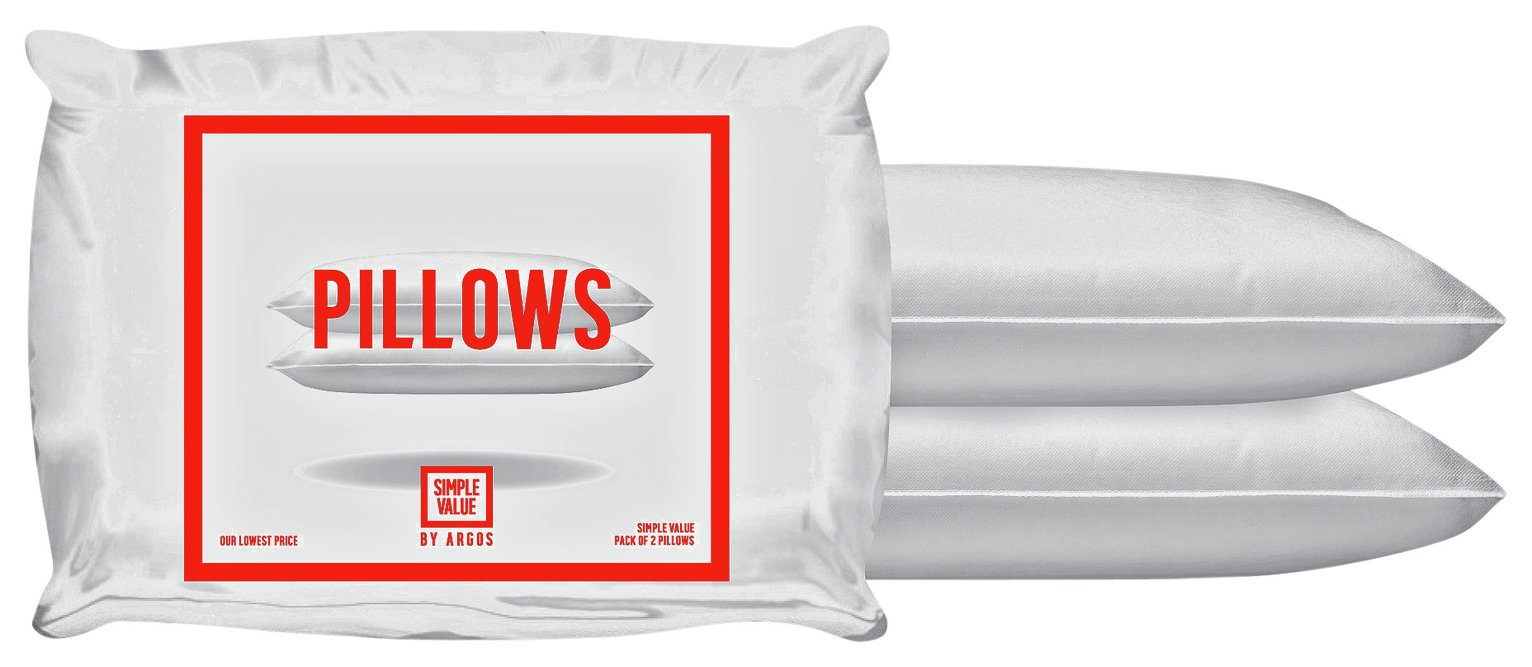 simple value pair of pillows