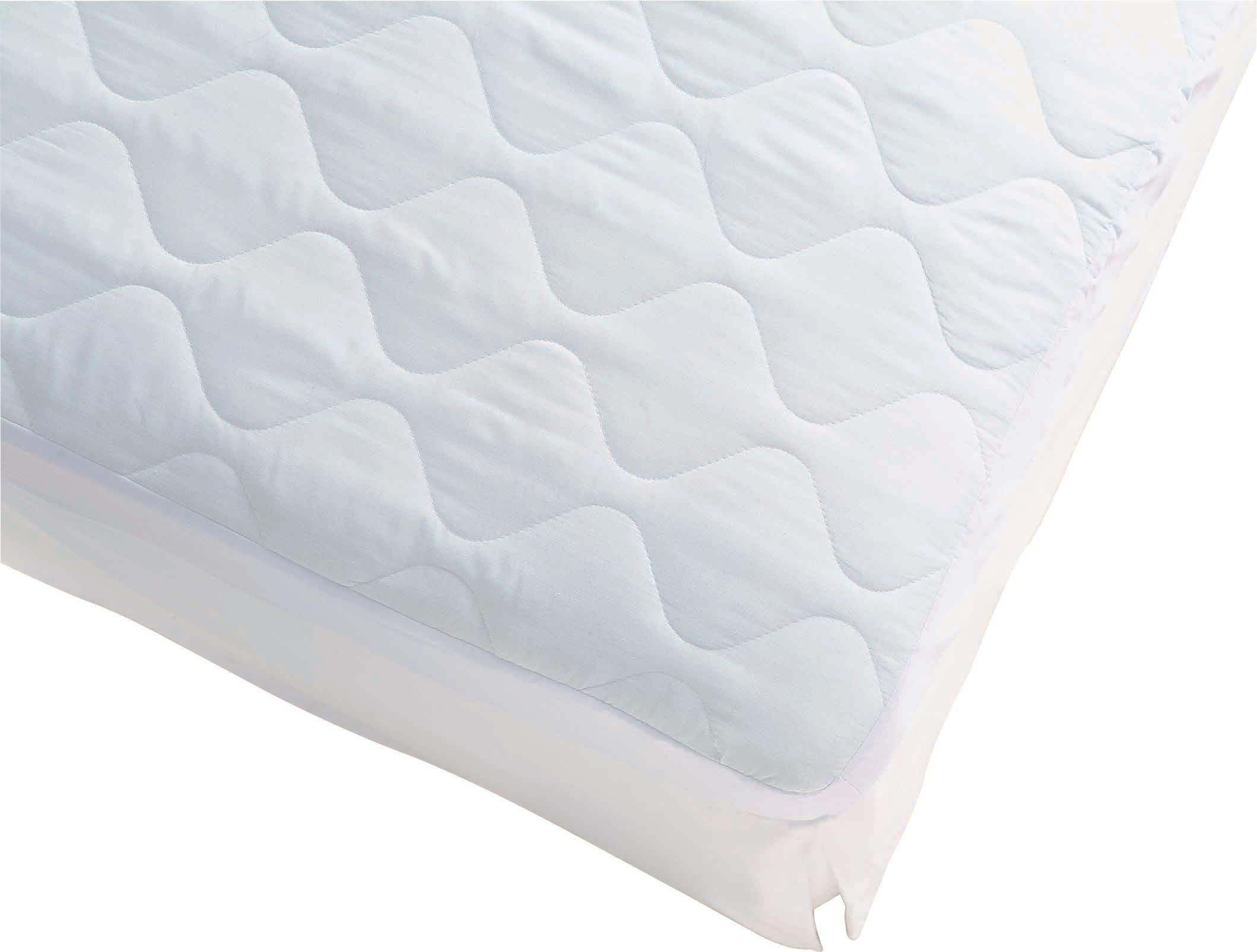 simple value quilted  mattress protector  single