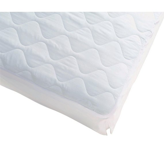 Buy Simple Value Quilted Mattress Protector - Single at Argos.co ... : quilted mattress covers - Adamdwight.com