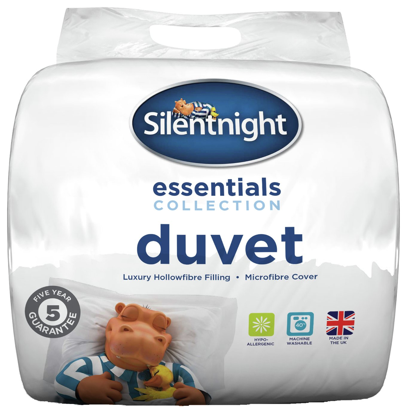 silentnight  essentials 105 tog  duvet  double
