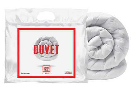 Simple Value 10.5 Tog Duvet - Single