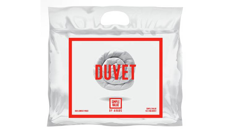 Argos Home Hollowfibre 10.5 Tog Duvet - Double