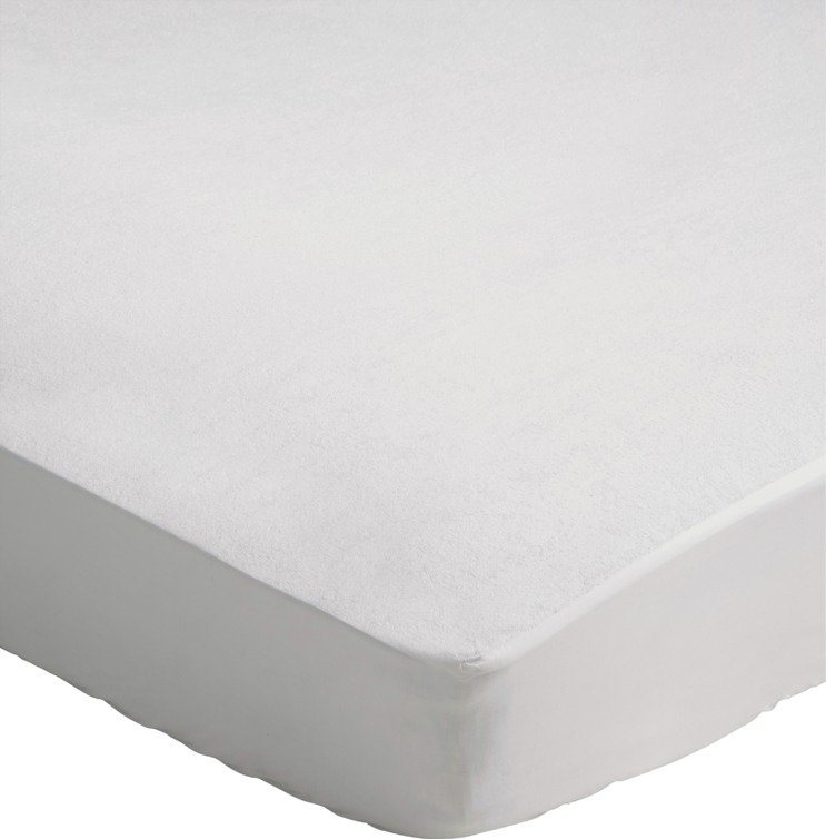 Argos Home Terry Waterproof Mattress Protector - Single