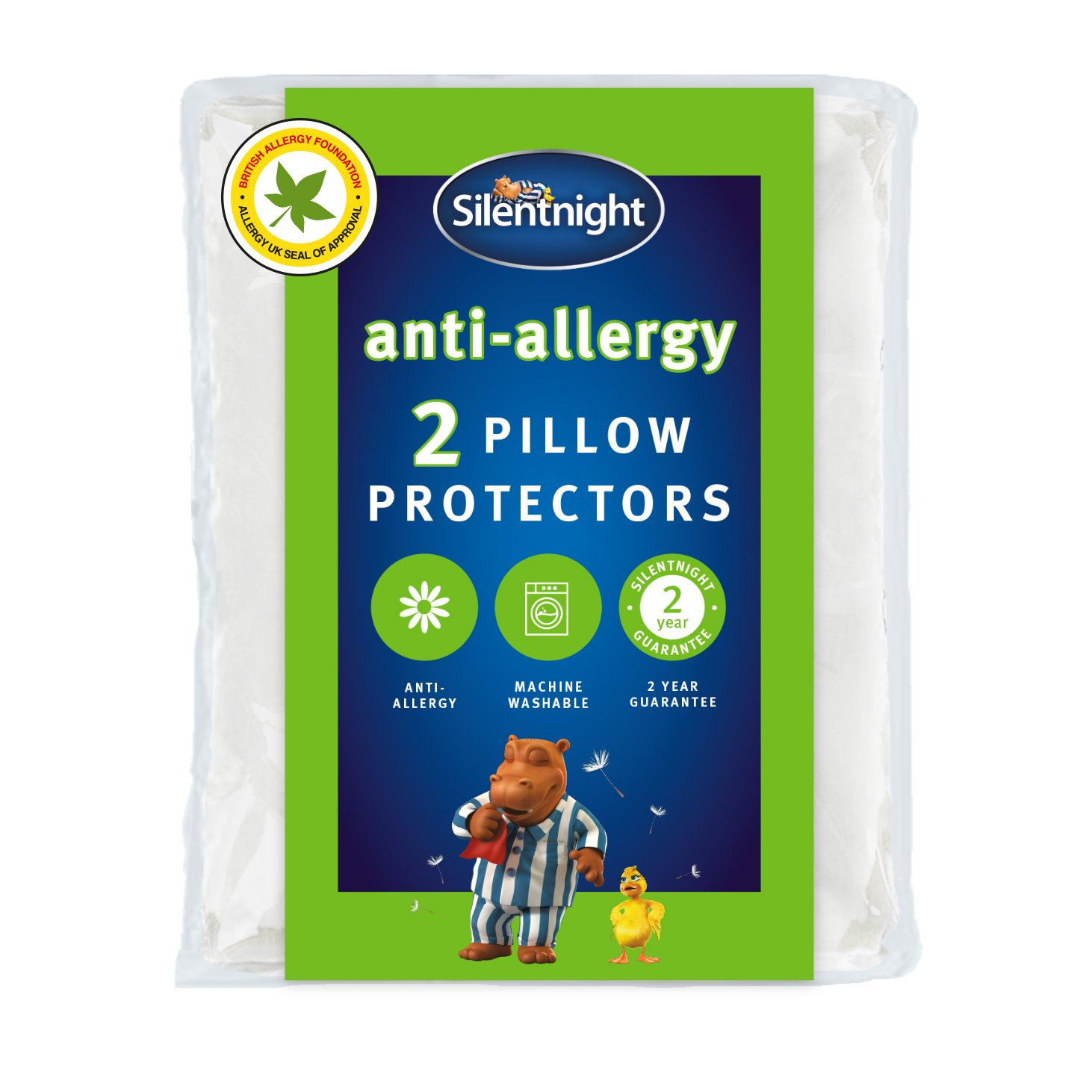 silentnight  antiallergy pair of pillow protectors