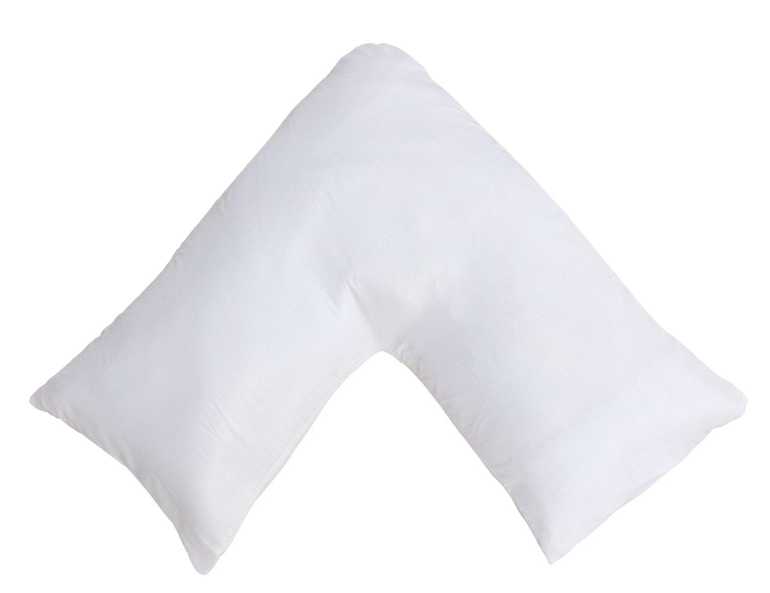 Argos Home V-Shaped Memory Foam Pillow