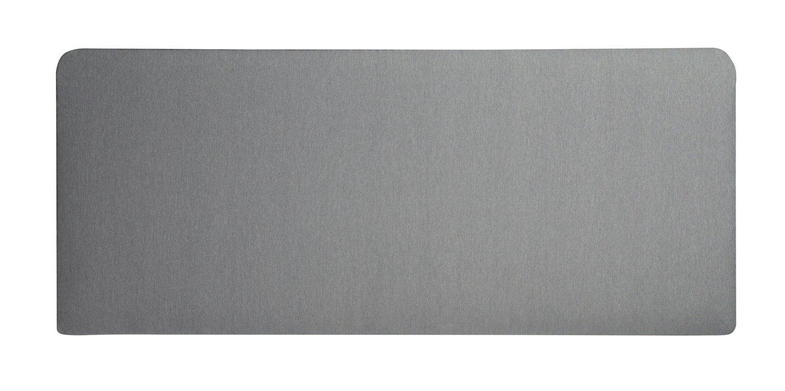 Silentnight Milan Kingsize Headboard - Light Grey