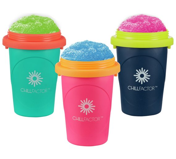 Buy Chill Factor Squeeze Cup Slushy Maker Toy Craft Kits Argos