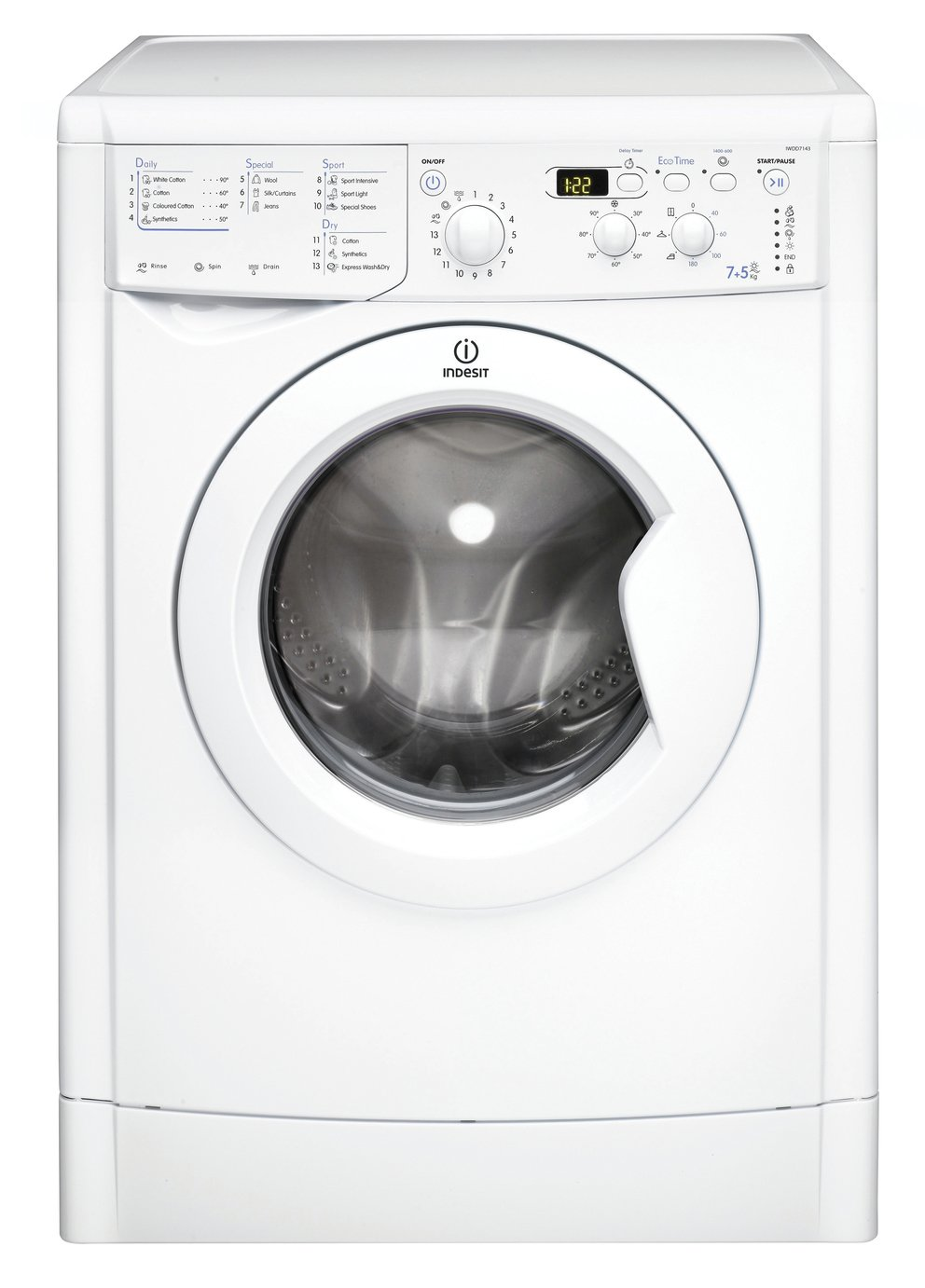 Image of Indesit  EcoTime IWDD7143P