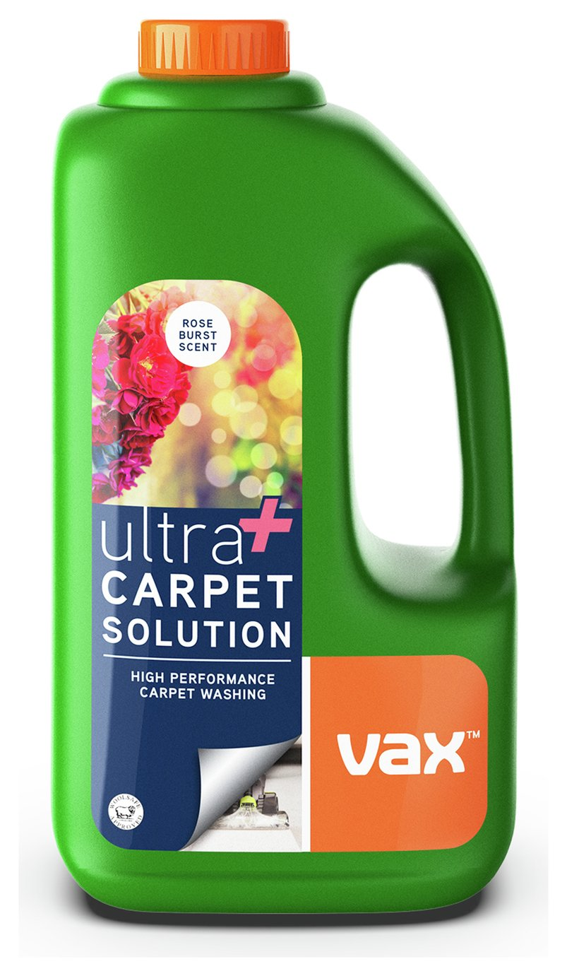 vax ultra carpet cleaning solution