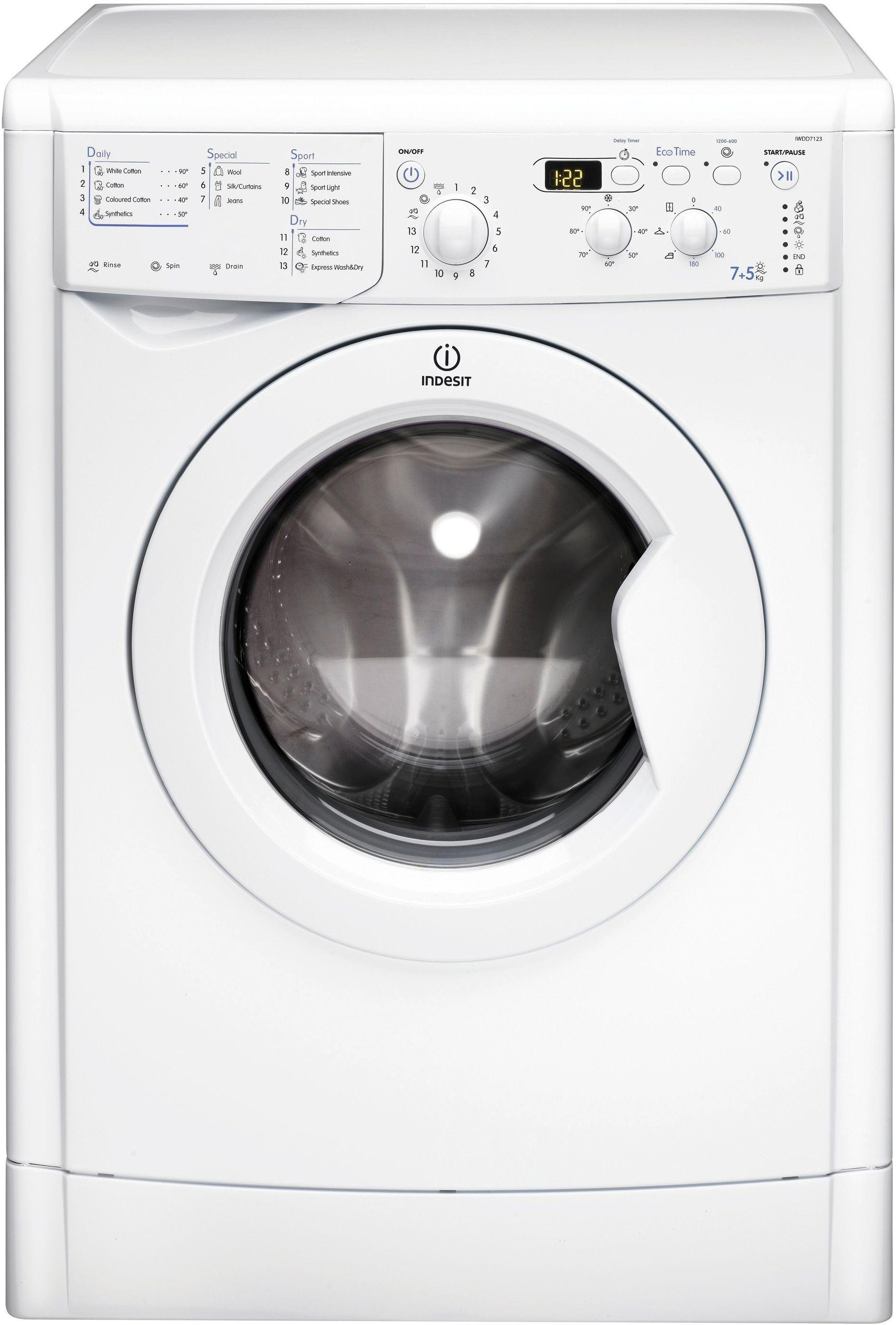 Image of Indesit  EcoTime IWDD7123P
