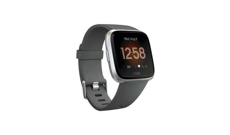 Fitbit Versa Lite Smart Watch   Charcoal 128/7200 by Argos