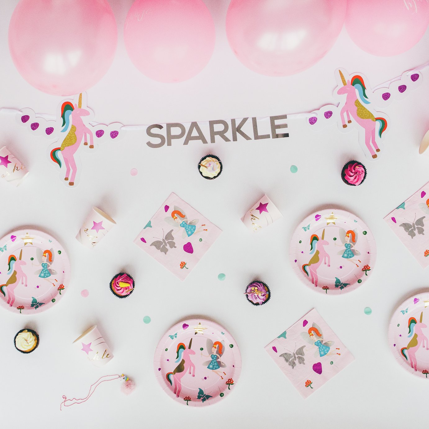 Styleboxe Sparkle & Flo Children's Party Decoration Set