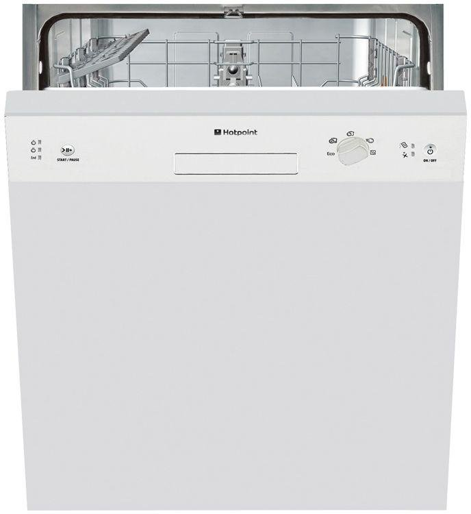 Image of Hotpoint Aquarius LSB 5B019 W Built-in Dishwasher - White