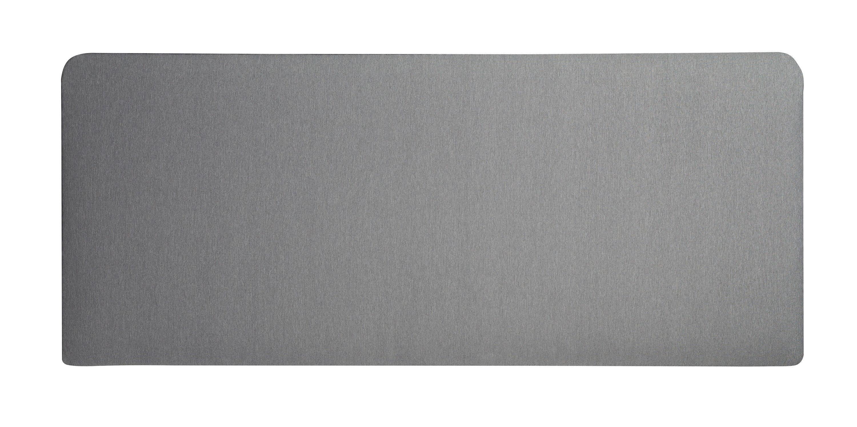 Silentnight Milan Superking Headboard - Light Grey
