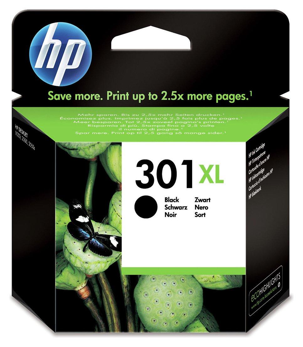 HP 301 XL High Yield Original Ink Cartridge - Black