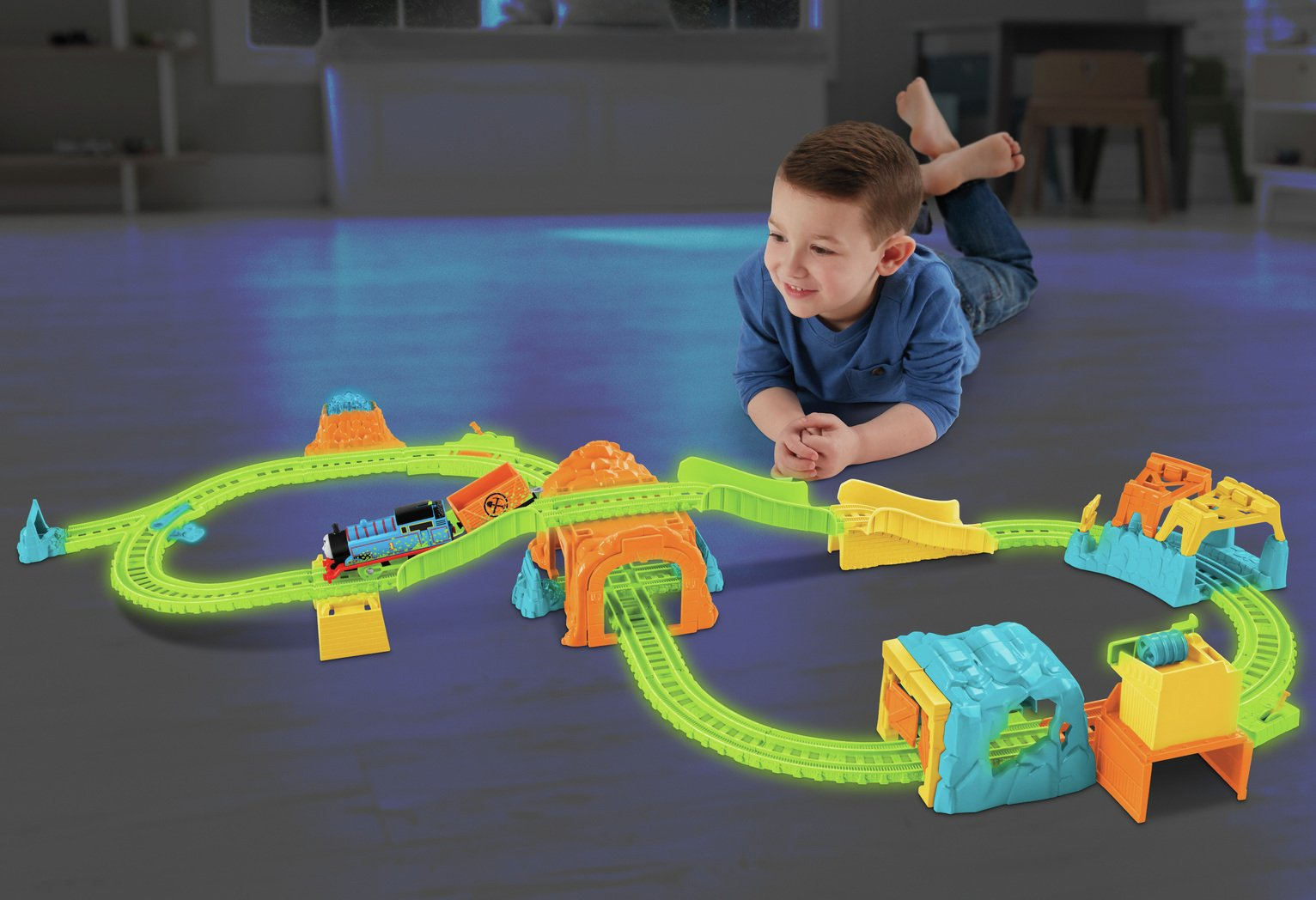 Thomas & Friends Glow Glowing Mine Playset
