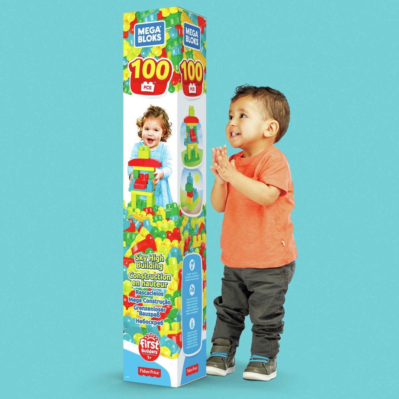 Mega Bloks 100 Piece Tube