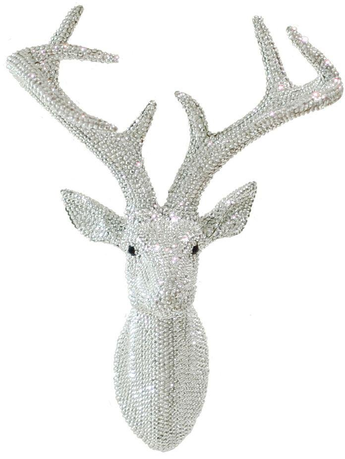 arthouse-star-studded-3d-stag-head-silver